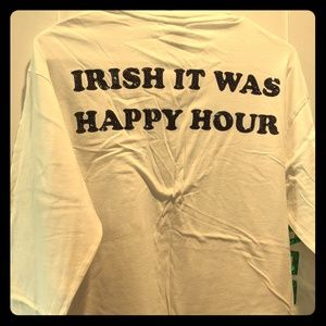 PINK St. Patrick's Day Shirt
